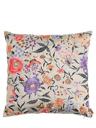 Missoni Sierre Sausalito Floral And Zigzag Pillow