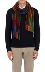 Barneys New York Men's Ombre Chenille Scarf No Color