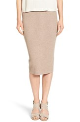 Eileen Fisher Women's Ribbed Wool Knit Pencil Skirt