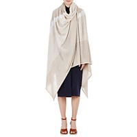 Gabriela Hearst Women's Striped Blanket Scarf Ivory