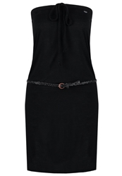 Ragwear Chicka Jersey Dress Black Jack