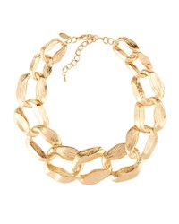 Emily And Ashley Golden Statement Link Necklace