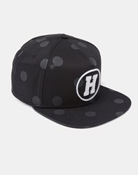 The Hundreds Siant Snapback Black