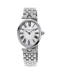 Frederique Constant Classics Art Deco Stainless Steel Watch 30Mm Silver