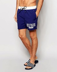 Tommy Hilfiger Colour Block Swim Short Blue Blue