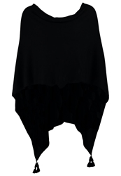 Comma Cape Black