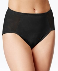 Bali Ultra Light Firm Control Sheer Lace Brief 6554 Black