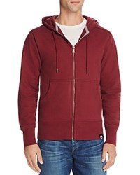 American Giant X Bloomingdale's Holiday Collection Classic Full Zip Hoodie Port Wine