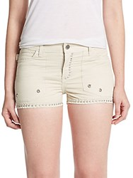 Zadig And Voltaire Pierra Studded Shorts Ice