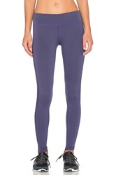 James Perse Yosemite Side Stripe Yoga Pant Purple