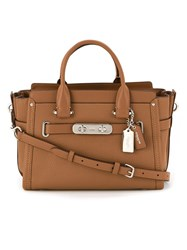 Coach 34816 Svsd Leather Brown