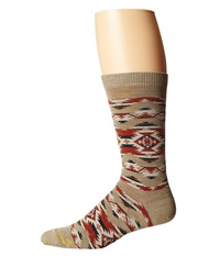 Pendleton Mountain Majesty Crew Fawn Crew Cut Socks Shoes Beige