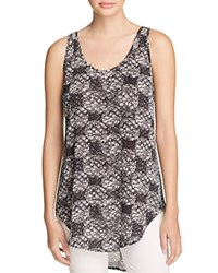 Philosophy Printed Scoop Neck Tank Compare At 48 Black Diamond