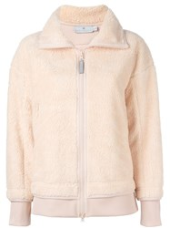 Adidas By Stella Mccartney Zipped Jacket Pink And Purple