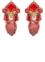 Fallon Women's Mellifera Drop Earrings Red