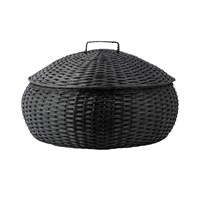 Day Birger Et Mikkelsen Round Baskets Set Of 2 Black
