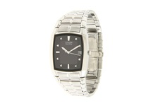 Citizen Bm6550 58E Eco Drive Stainless Steel Watch Black Stainless Steel Dress Watches