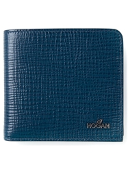 Hogan Logo Detail Wallet Blue