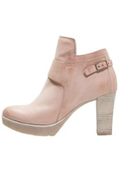 Mjus Splendid Ankle Boots Candy Rose