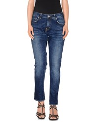 Department 5 Denim Denim Trousers Women Blue