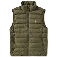 Polo Ralph Lauren Lightweight Down Gilet Green