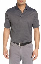 Peter Millar Men's 'Finch's Stripe Lisle' Jersey Golf Polo