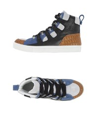 Kris Van Assche Krisvanassche Footwear High Tops And Trainers Men Pastel Blue