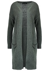Selected Femme Sflivana Cardigan Thyme Evergreen