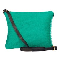 Sarah Baily Dilly Messenger Green And Black