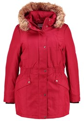 Junarose Jrexpedition Parka Biking Red Dark Red