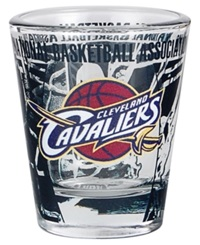 Hunter Manufacturing Cleveland Cavaliers 3D Collector Glass Team Color