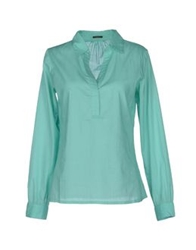 Nocollection Blouses Light Green