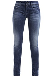 Replay Rose Slim Fit Jeans Blue Blue Denim