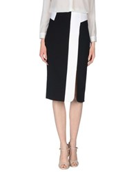 Space Style Concept Skirts 3 4 Length Skirts Women Black