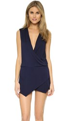 Young Fabulous And Broke Sinta Romper Navy