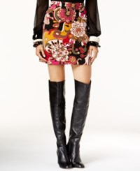 Inc International Concepts Petite Floral Print A Line Skirt Only At Macy's Pop Flower