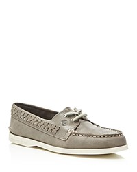 Sperry Quinn Boat Shoes Gray