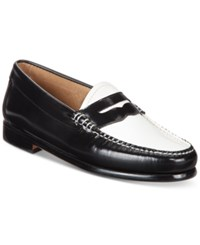 G.H. Bass And Co. Women's Weejuns Whitney Penny Loafers Women's Shoes Black White