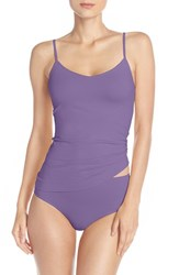 Nordstrom Women's Lingerie Two Way Seamless Camisole Purple Berry