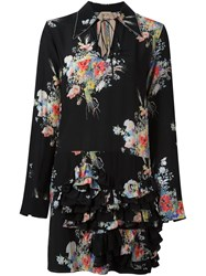 N 21 No21 Floral Print Dress Black