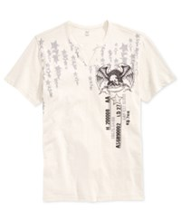 Inc International Concepts Men's Graphic Print T Shirt Only At Macy's Oatmeal