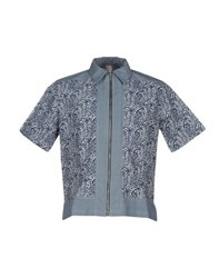 Antonio Marras Shirts Shirts Men Slate Blue