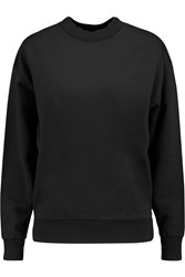 Golden Goose Jamie Cotton Jersey Sweatshirt Black