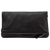 Liebeskind Aloe B6 Leather Across Body Bag Black