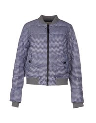 Essentiel Coats And Jackets Down Jackets Women Blue