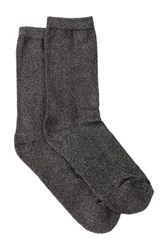 Shimera Pillow Sole Crew Socks Pack Of 2 Gray