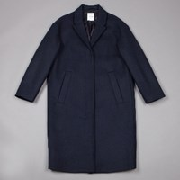 Wood Wood Navy Sonia Coat