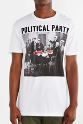 Riot Society Political Party Tee White