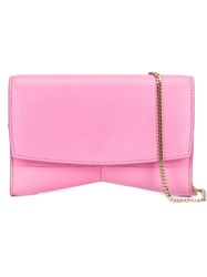 Narciso Rodriguez 'Rachel' Clutch Pink And Purple
