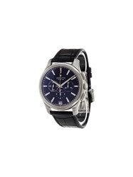 Zenith 'El Primero Captain Chronograph' Analog Watch Stainless Steel